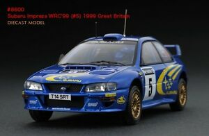 Image Is Loading HPI 8600 1999 Great Britain Rally Subaru Impreza