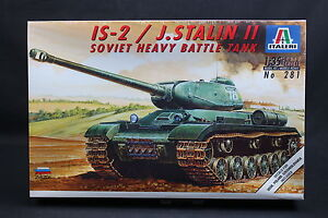 XT064-ITALERI-1-35-maquette-tank-char-281-Soviet-Heavy-Battle-Tank-IS-2-J-Stalin