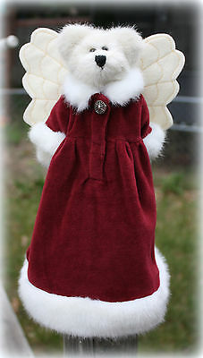 """*NEW* BOYDS BEARS 12"""" ARIELLA ANGELFROST TOPPER RETIRED & ADORABLE"""