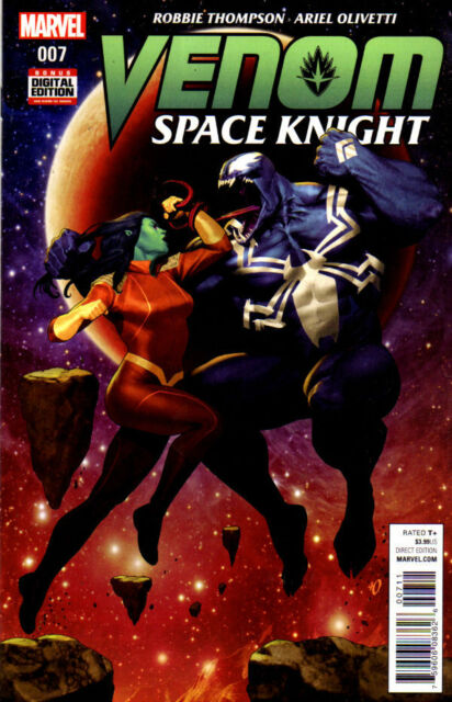 VENOM SPACE KNIGHT #7 - MARVEL - NEW - BAGGED & BOARDED