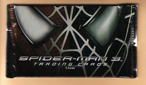Spider-man 3 Movie Card Pack Fresh From Sealed Box!