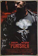 THE PUNISHER DS ROLLED ORIG 1SH MOVIE POSTER THOMAS JANE JOHN TRAVOLTA (2004)