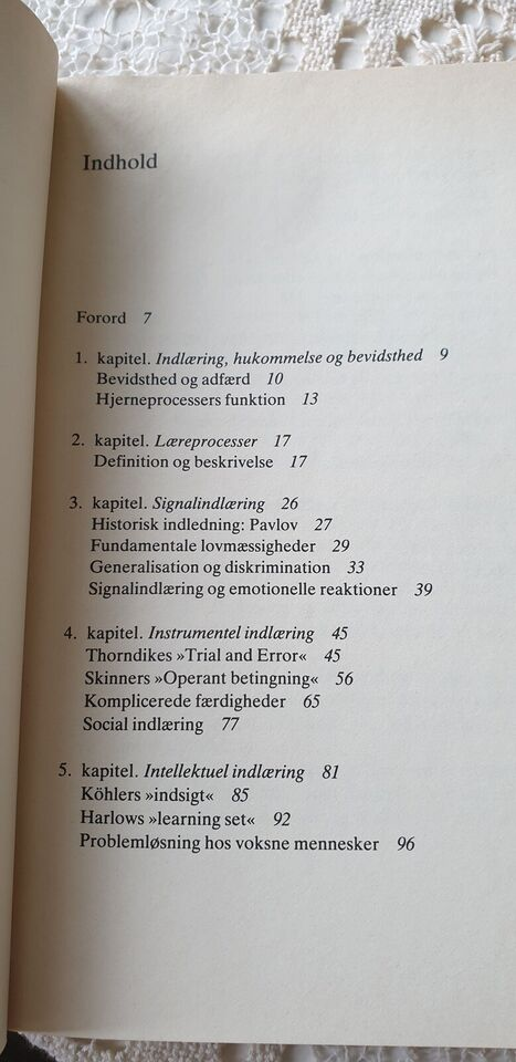 INDLÆRING OG HUKOMMELSE, K.B. MADSEN