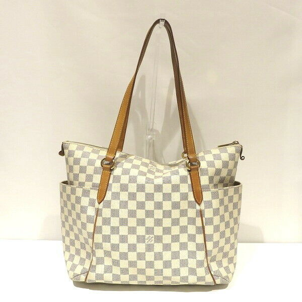 Louis Vuitton Damier Azur Totally Mm N51262 Tote Bag For Sale Online Ebay
