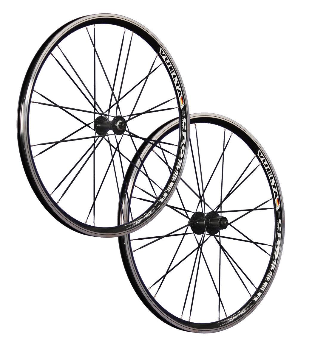 Vuelta 26 Zoll System Laufradsatz Crosser Messerspeichen Shimano HB FH-M40 7-10