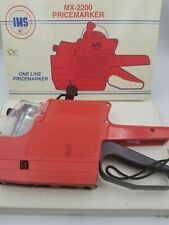 Vintage Ims Mx 2200 Pricemarker One Line With Box And Rolls Of Labels