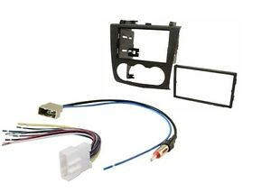 double din dash kit aftermarket radio install wire harness rh ebay com Aftermarket Car Radios For Jeep Wrangler Aftermarket Radio Antennas