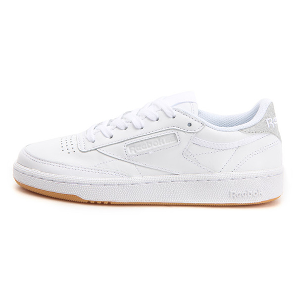 a22d1ee4951 Details about New Womens Reebok CLUB C 85 Diamond WHITE   SILVER BD4427 US  5.5 - 11.0 TAKSE
