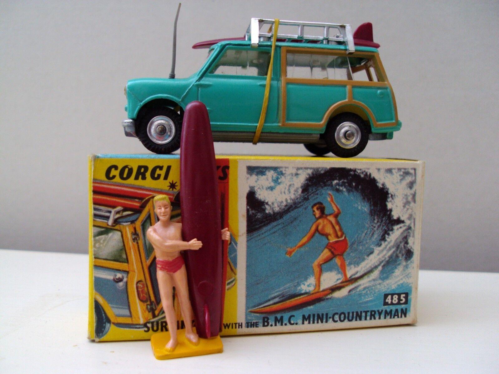 Corgi Toys Mini Countryman with Surfer (No 485)