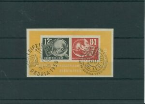 Germany-GDR-vintage-yearset-1950-Mi-Block-7-Postmarked-Used-More-Sh-Shop