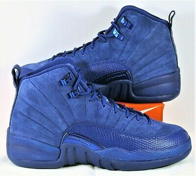 jordan 12 suede blue