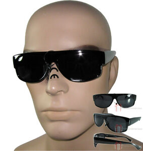 f8b15c50f96 Sunglasses Eazy E Black Locs Car Motorcycle Gangster Cholo Rap Shades