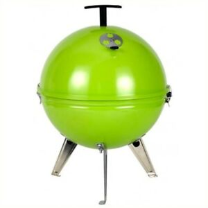 TEPRO-Crystal-Mini-Kettle-BBQ-GREEN-Compact-Camping-Garden-Barbecue