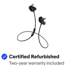 Bose SoundSport Wireless Headphones, Certified Refurbished