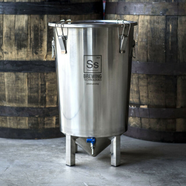 SS Brewing Tech The Brew Bucket 7 Gallon Stainless Conical Fermenter Beer EXPORT