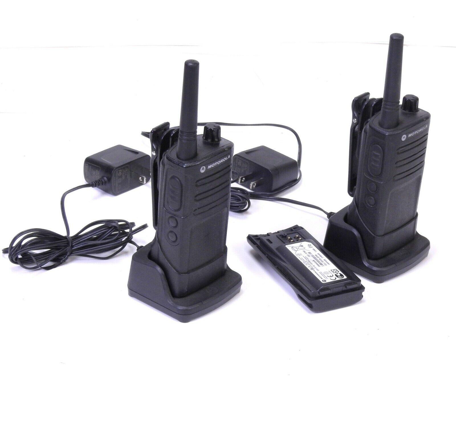 Set of 2 Motorola Two Way Business Radios