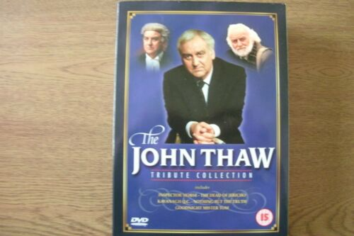 1 of 1 - The John Thaw Tribute Collection (DVD, 3-Disc Box Set) . FREE UK P+P ...........