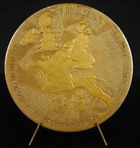 Medaglia-Europa-Degli-Nuovi-1973-Pouillard-Sc-81-mm-Medal