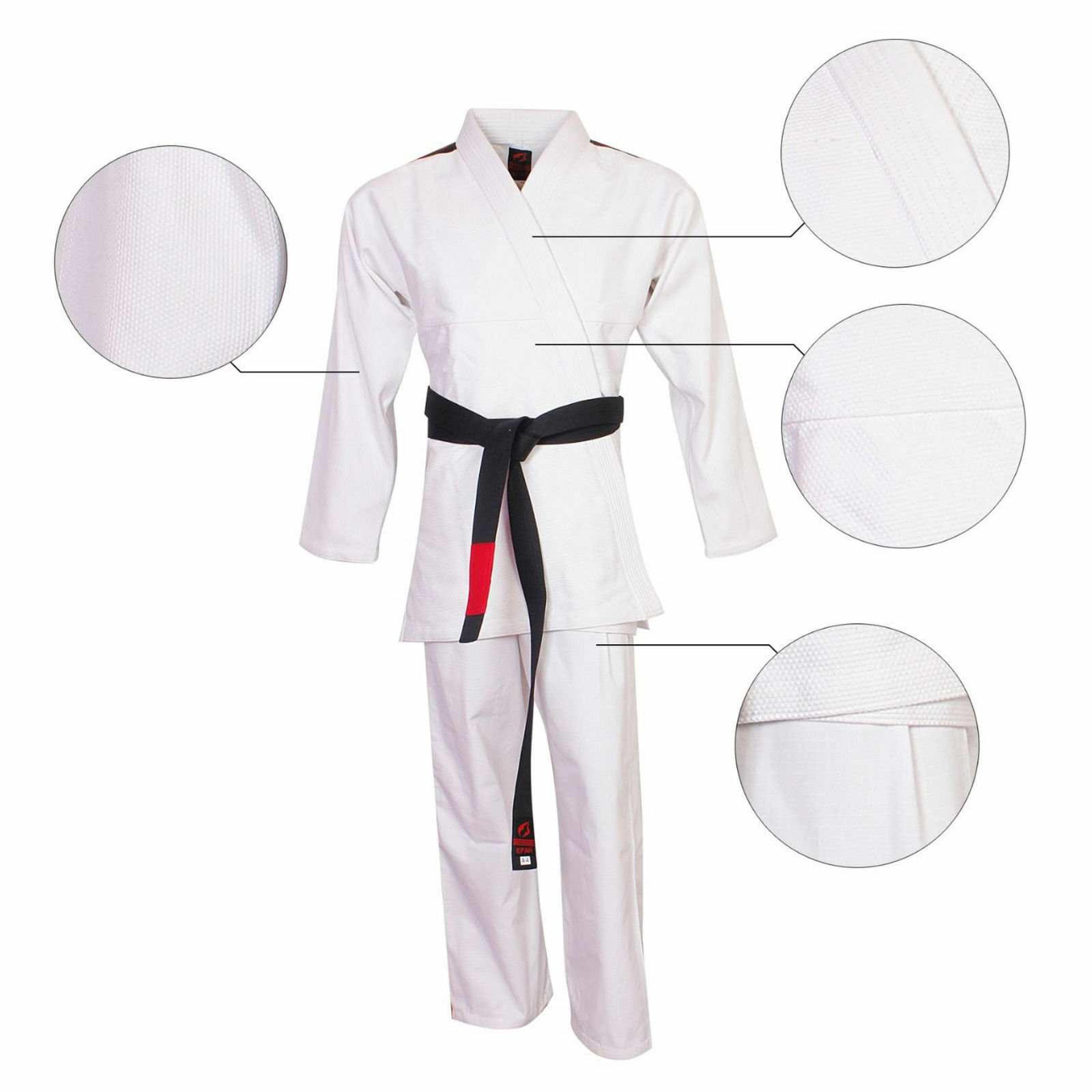 Martial Art Jiu Jitsu Gi Suit Top Quality Pro Design Suit Uniform Wht Free Belt