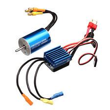 2838 Sensorless Waterproof Motor 3600/4500KV 35A ESC For 1/12 1/14 Cars