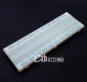 NEW-MB-102-MB102-Breadboard-830Point-Solderless-PCB-Bread-Board-Test-Develop-DIY