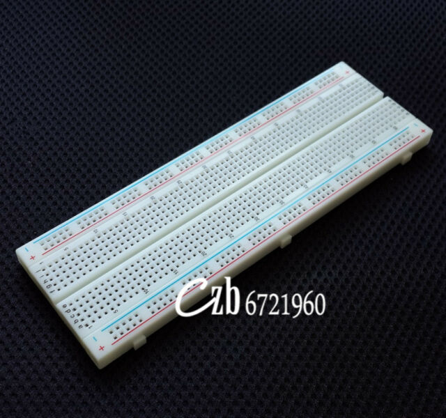 NEW MB-102 MB102 Breadboard 830Point Solderless PCB Bread Board Test Develop DIY