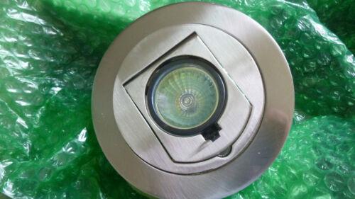 Bulb Recessed DMF Lighting D4415 Brushed Nickel Trim