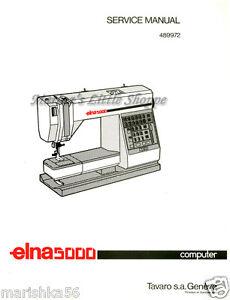 Elna stella 37–57 sewing machine service manual elnita 17.
