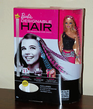 NEW Barbie Designable Hair Extensions & Doll Printable Wearable