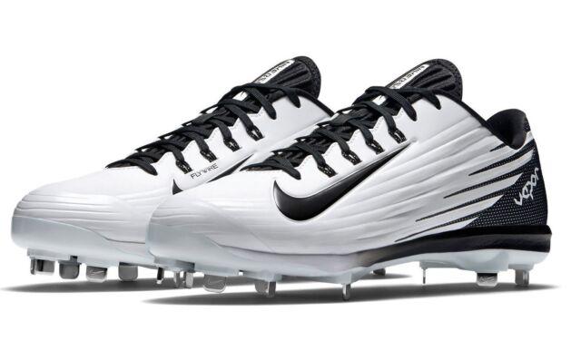 Favor Insistir experimental  Nike Lunar Vapor Pro Metal Baseball Cleats~Mens14~New~683895-101~White&Blk~Shoes  for sale online