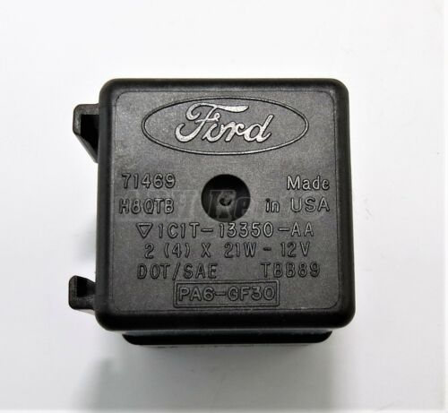 X 21W-12V 4 00-13 5-PIN Black Relay Flasher 1C1T-13350-AA 2 454-Ford Transit