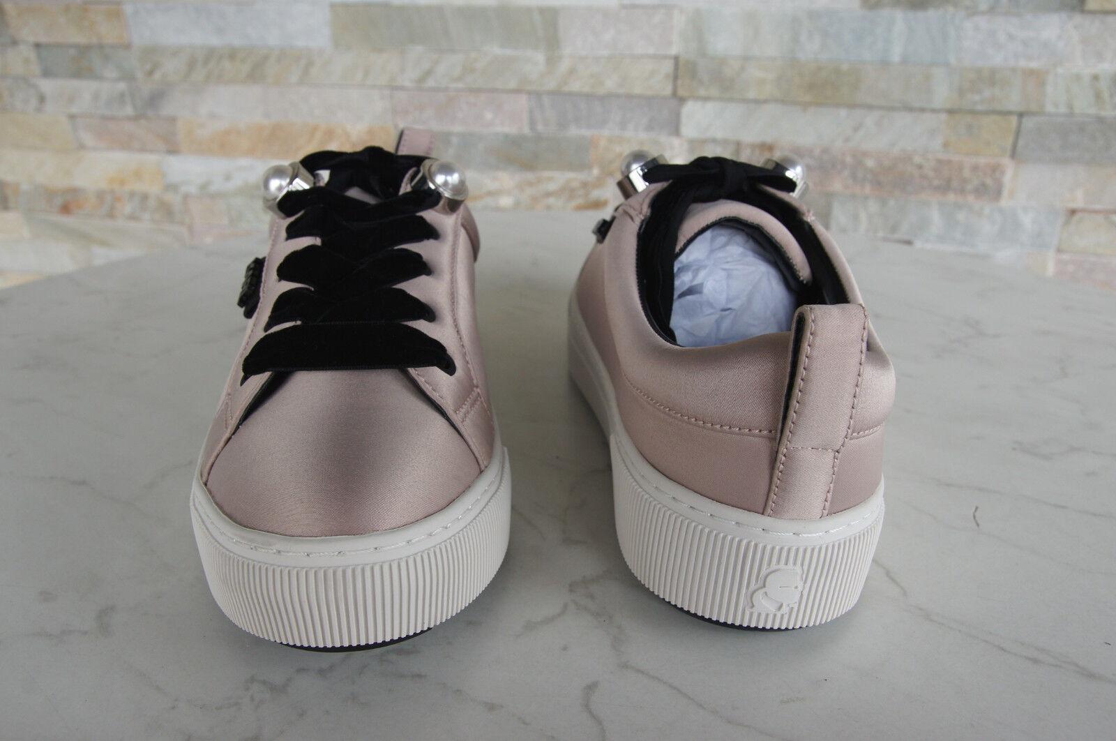 Karl Lagerfeld UE 40 40 40 us9 uk7 Baskets Chaussure Lacée Chaussures Rose Nouveau Ancien Prix Recommandé 8e37ec