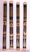 "Traditional RainShaker RainStick 32""80cm Authentic Handcarved Bamboo Rain-Stick"