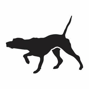 Vinyl Decal Sticker Pointer Dog ebn954 Multiple Patterns /& Sizes