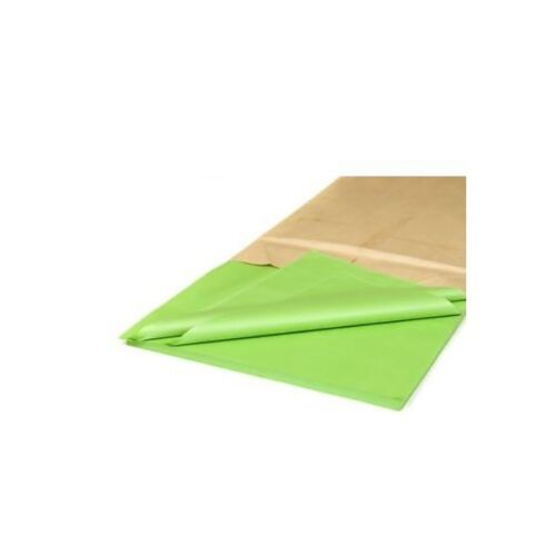 "18gsm  20/"" x 30/"" Acid Free LIME GREEN Tissue Paper Sheets 50cm x 75cm"