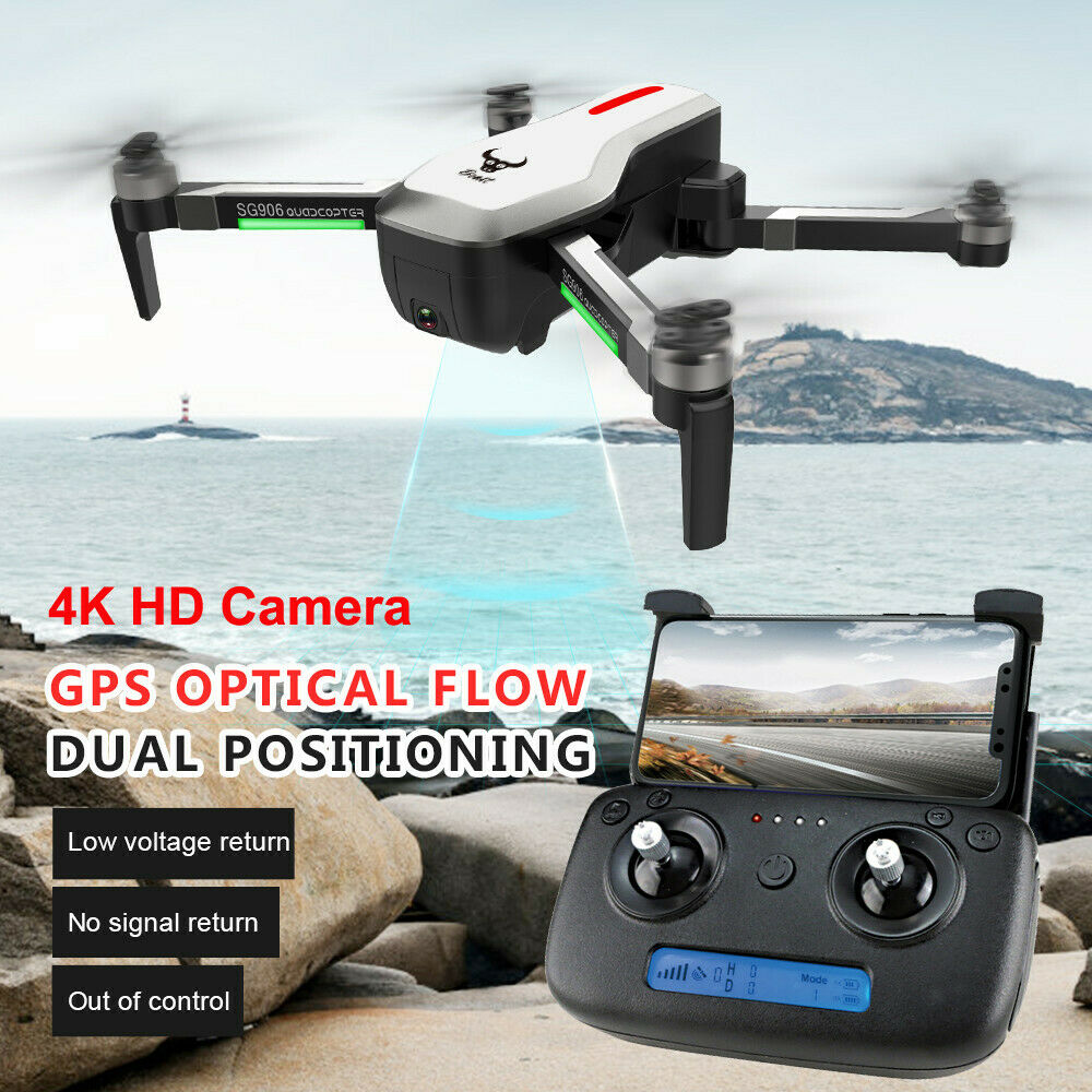 Drone GPS 5g WiFi FPV 4k blindados dual cámara con motor brushless RC drone cuadricoptero