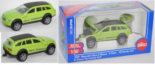 grün//schwarz Siku Super 2349 Mercedes-Benz E-Klasse All Terrain 4x4 1:50