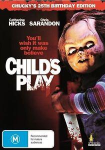 Child-039-s-Play-1988-Chucky-039-s-25th-Birthday-Edition-DVD-NEW-Region-4-Australia