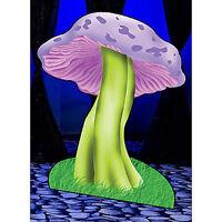 Giant Mushroon Standee Wonderland Theme Decoration Cardboard Cutout