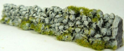 Other Oo Scale Parts & Accs Javis Pw2grey 6 X 134mm Grey Resin Rough Farm Stone Walling '00' Gauge Moderate Cost