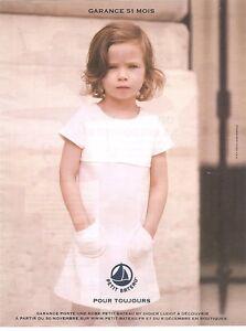PUBLICITE ADVERTISING 2011 PETIT BATEAU Garance porte robe D.Ludot