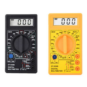 Mini-LCD-Digital-Voltmeter-Ohm-Multimeter-AC-DC-Voltage-Multi-Tester-Meter