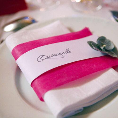 Band Tischband 10cm x 10m apfelgrün Dekoband Schleifenband Vlies Geschenkband
