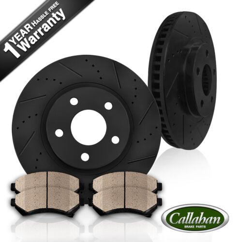 Front 282 mm Brake Disc Rotors And Ceramic Brake Pads For Honda Civic GX Sedan