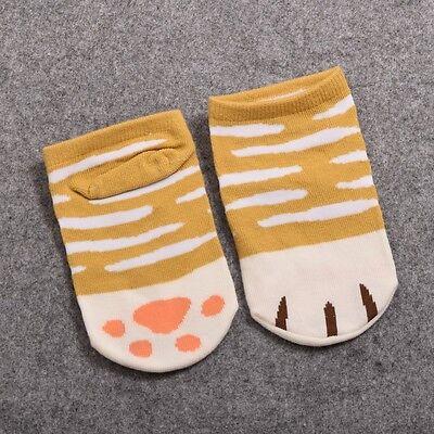 1 Pr Neko Atsume Cat Claw Short Socks Kids Girl's Anime Ankle Socks Cosplay Prop