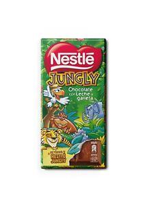 La primera tableta de chocolate de #ElRetornoDeNestleJungly
