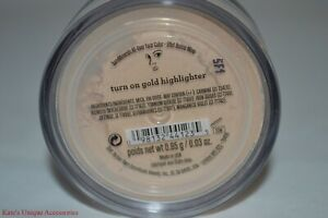 bareMinerals-All-Over-Face-Color-TURN-ON-GOLD-Highlighter-0-85-g-0-03-oz-FS-New