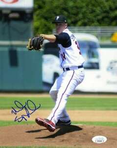 Noah Syndergaard Jsa Coa Autograph Early 8x10 Photo  Hand Signed Authentic