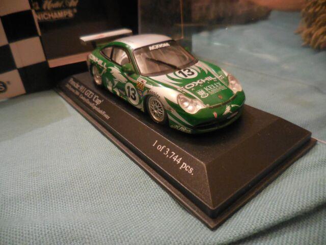 1/43 PORSCHE 911 GT3 CUP #13 FOXHILL RACING 24H DAYTONA 2004 MINICHAMPS