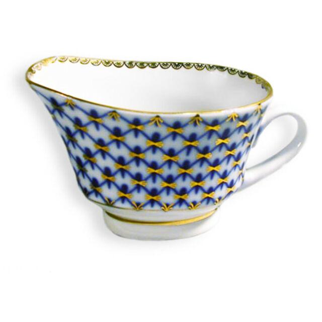 Lomonosov Porcelain /'Singing Garden/' Gravy Boat 200 gr AUTHENTIC